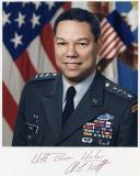 Early 90's - General Colin Powell, Chairman of the Joint Chiefs of Staff