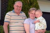 2006 - Grandpa Don Boyd, daughter Karen D. Boyd and grandson Kyler Matthew Kramer