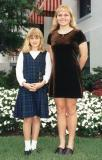 Mid 90's - Daughters Donna and Karen at the Florida State Capitol building