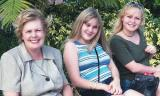 2000 - Karen and daughters Donna and Karen D.