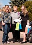 March 2005 - Karen D., Karen C. and Donna before the baby shower