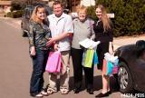 2005 - Karen D., Steve Kramer, Karen C. and Donna before the baby shower