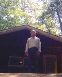 1970 - Bob Zimmerman, summer youth counselor near Brevard, NC