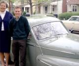 1967 - Aunt Norma Boyd and Don Boyd with Volvo 544 in Richmond