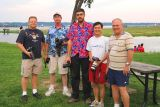 July 2006 - JT Occhialini, Steve Griffin, Greg Drawbaugh, Ben Wang and Don Boyd at Washington National (DCA)