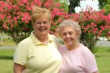 July 2006 - Karen and her mom Esther Criswell