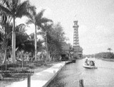 1910 - 1920 the Cardale Tower on the Miami River