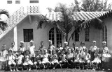 1945 - Mrs. Brown's Kindergarten Band at Coral Gables Elementary School in Coral Gables