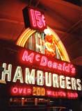 15 cent McDonald's burgers