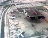 Mid 1970s - the eastern portion of the National Airlines Maintenance Base at MIA