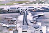 1988 - Concourse E and the E-Satellite at Miami International Airport