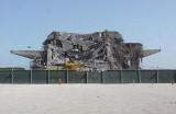 2001 - former National, and Pan Am, hangar 3035 being demolished