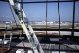 1983 - view from the new FAA tower under construction on the west side of MIA