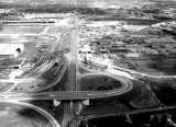 1960 - looking north on LeJeune Road east of the new terminal at Miami International Airport