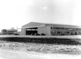 Early 1940s - a new hangar at Pan American Field