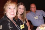 May 2007 - Karen, Donna and Don at the PEO Florida state convention in Daytona Beach