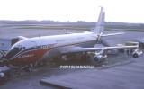1964 - Braniff International Airways B707-227 at Concourse 5 at Miami International Airport