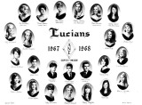 1967 - 1968 - the Lucians Club at Miami High School