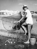 1955 - Fish Mary Bowman on the South Beach Pier