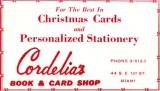 1952 - Cordelia's Book & Card Shop