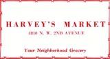1952 - Harvey's Market
