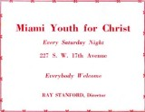 1952 - Miami Youth for Christ