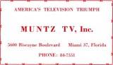 1952 - Muntz TV, Inc.