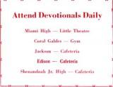 1952 - School Devotionals