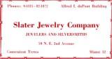 1952 - Slater Jewelry Company