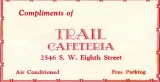 1952 - Trail Cafeteria