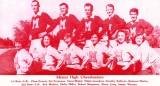 1952 - Miami High School Cheerleaders