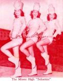 1952 - Miami High School Soloettes