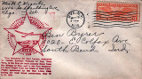 1938 - Amelia Earhart Air Mail Cachet