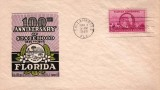 1945 - 100th Anniversary of Florida Statehood first day cover