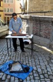 STREET MUSICIAN & HIS ZITHER