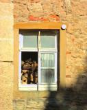 WOODPILE WINDOW