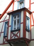 COLOURFUL ORIEL WINDOW