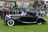 1935 Hispano-Suiza K6 Brandone Cabriolet, owned by Sam and Emily Mann, finalist for Best of Show award (st)