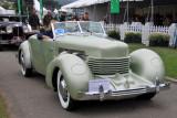 1936 Cord 810 Convertible Phaeton Sedan (cr)