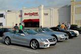 A couple of Mercedes-Benz SLs and a Porsche 911 (4203)