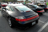 Porsche 911 Carrera 4S and two other 911s (4233)