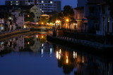 Malacca river at dawn