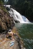 Takah Tinggi waterfall