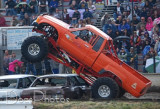 Tuff Trucks and trash Cars at Willamette Speedway june 21 2009