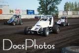 Willamette Speedway July 30 2010  NWWT Sprints and Midgets