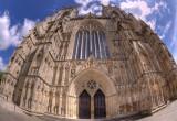 York Minster Fisheye Image