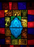 Backlit Stained Glass