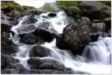 Waterfall in Cwm Idwal