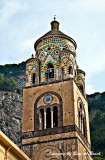 The bell tower of the Amalfi Cathedral