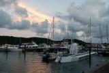 c3372 Crown Bay Marina evening